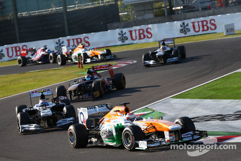 Sahara Force India narrowly missed out on points at Suzuka