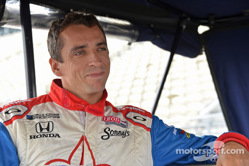 Justin Wilson injured in Fontana IndyCar finale