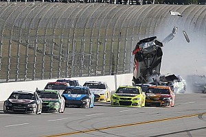 NASCAR Cup Analysis Junior's last lap victory plans go up in smoke