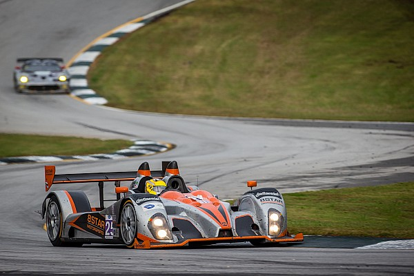 ALMS 8Star leads Petit Le Mans, finishes 2nd in Prototype Challenge debut