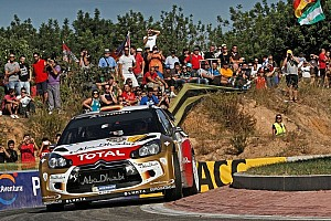 WRC Breaking news Sordo fastest at Spanish Shakedown