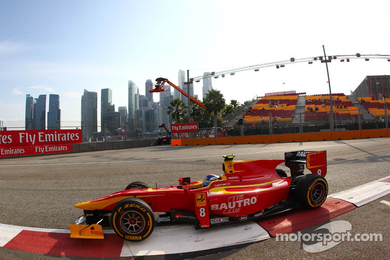 Racing Engineering arrive to Abu Dhabi for final two races