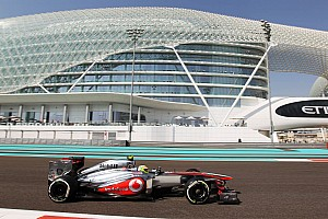 Formula 1 Practice report A productive Friday practice for McLaren in Abu Dhabi