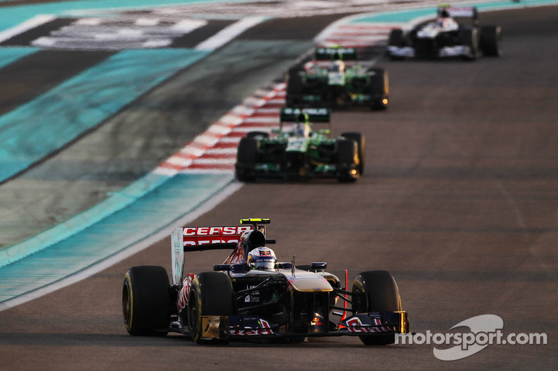 A frustrating evening for Toro Rosso at the Yas Marina Circuit
