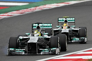 Formula 1 Analysis Rosberg claims speed 'equal' to Hamilton