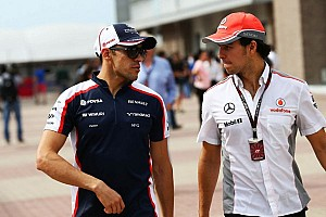 Formula 1 Breaking news Perez worried, Maldonado happy after F1 team splits