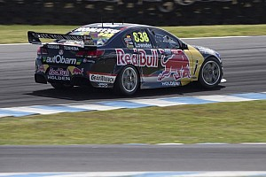 Supercars Race report Lowndes takes victory in Phillip Island 360's race two