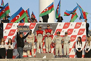 Blancpain Sprint Race report Ortelli and Vanthoor take Baku victory and title glory
