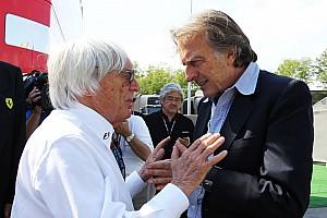 Formula 1 Breaking news Horner as Ecclestone's successor a joke - Montezemolo