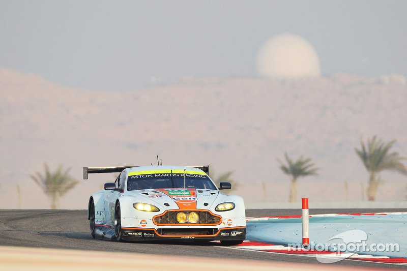Aston Martin qualifies on pole in GTE am and third in GTE Pro