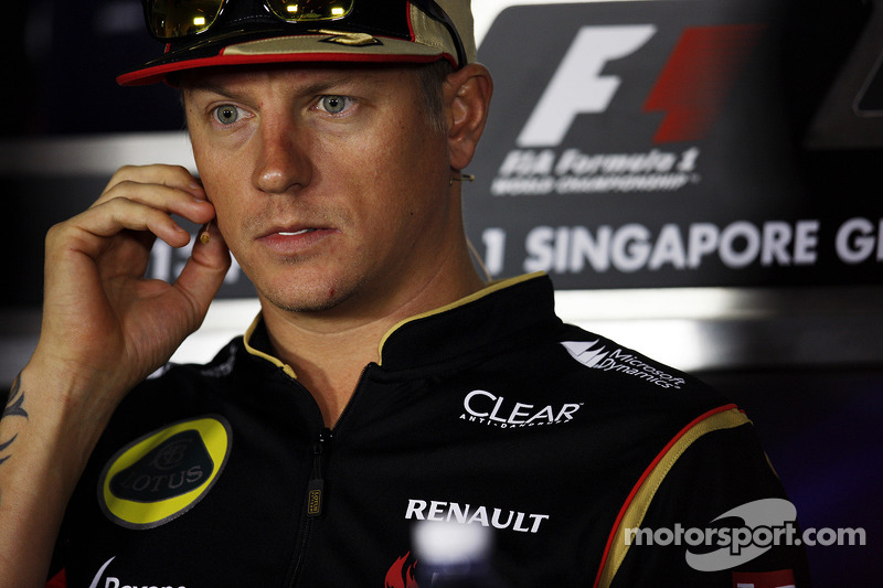 Raikkonen picks number 7, Bottas picks 77