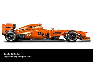 Formula 1 Breaking news McLaren could launch orange 2014 car - report