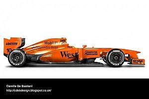 Formula 1 Breaking news McLaren could launch orange 2014 car - report