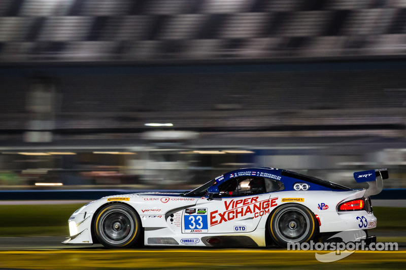 Viperexchange.com Viper GT3-R Team completes productive Daytona test