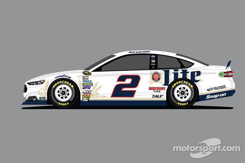 Rusty Wallace to drive Penske Miller Lite Ford at Daytona test