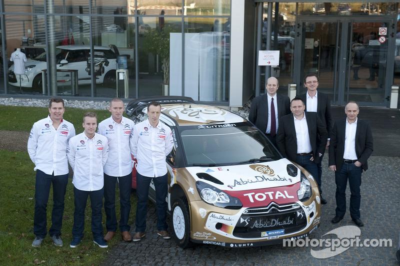 Citroën Racing opens its season at the Rallye Monte-Carlo
