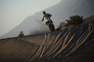 Dakar Stage report Coma hammers the result home while Peter' closes in