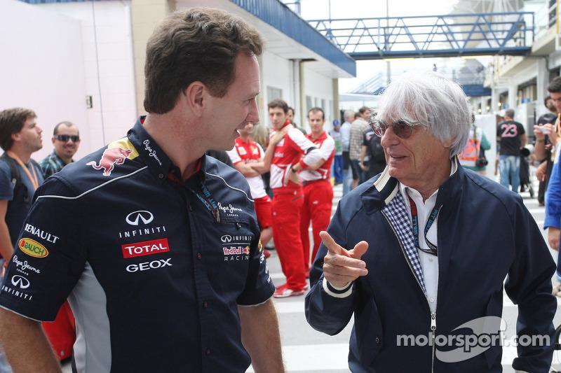 Ecclestone facing German trial, bids for Nurburgring
