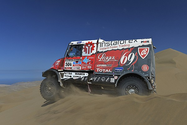 Loprais Team: This year was the toughest Dakar in the South America