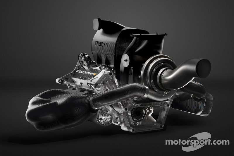 A detailed look at the Renault Energy F1 V6 engine