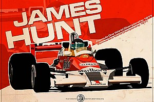 Formula 1 Breaking news James Hunt to join The Hall of Fame