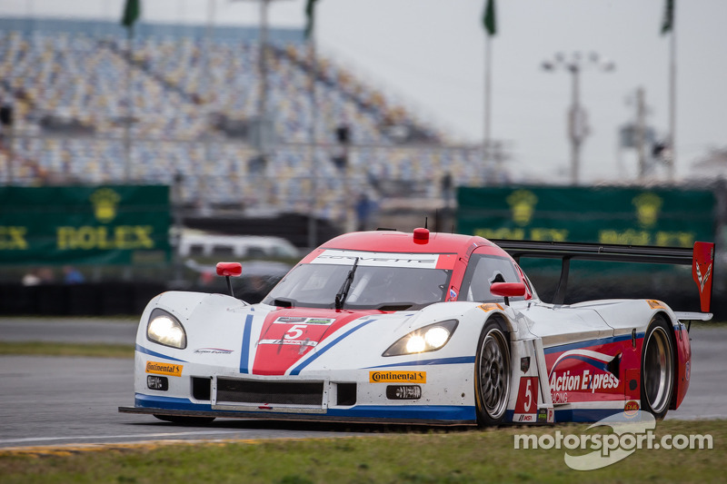Second row start for Action Express Racing at Daytona 24