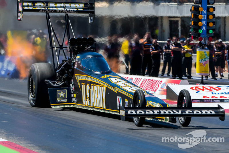 Tony Schumacher wants winning ways to continue after Pomona