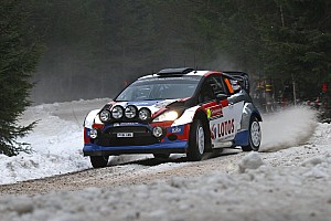 WRC Race report Kubica completes a challenging Swedish debut