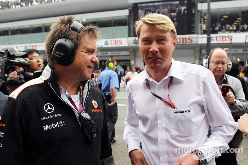 Hakkinen tips Raikkonen to beat Alonso