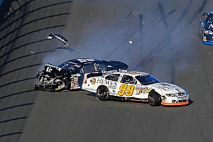 NASCAR Cup Blog Speedweeks 2014: Carnage on the frontstretch