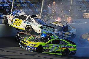 NASCAR Cup Breaking news Carnage during Daytona 500 practice - Kligerman flips