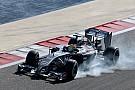 Sauber's Gutiérrez tests different tyre compounds on day 3 at Bahrain