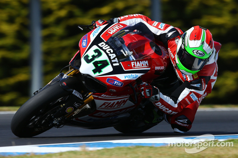 Two 4th place finishes for Giugliano at Phillip Island