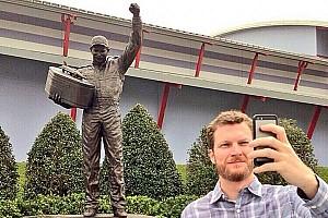 NASCAR Cup Breaking news The Dale Earnhardt Jr. selfie