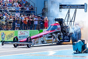 NHRA Race report Massey's dragster ousted in second round of Wild Horse Pass eliminations on Sunday at Phoenix
