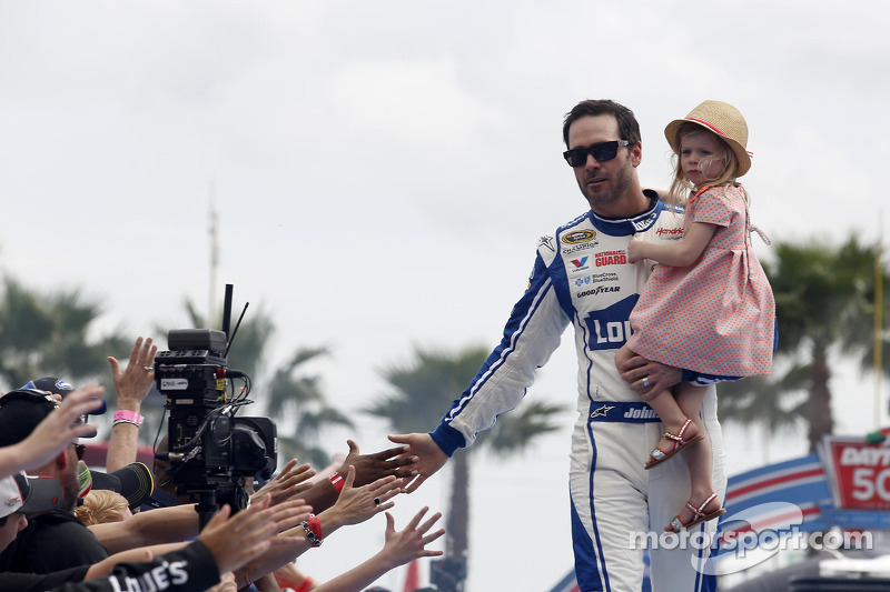 Jimmie Johnson talks about his influence on Dale Earnhardt Jr