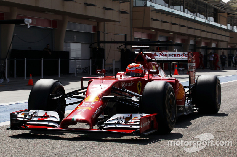 Ferrari: Final rehearsal for Raikkonen at the Sakhir Circuit