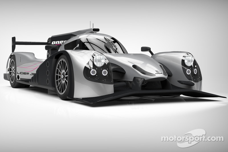 Onroak Automotive unveils the new Ligier JS P2