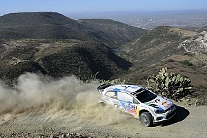 WRC Leg report Sébastien Ogier leads the pack on day one of Rally Mexico