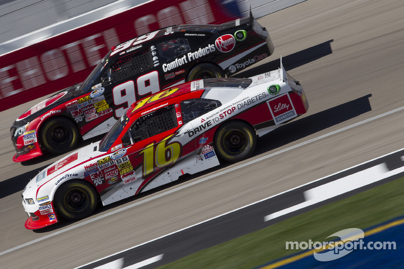 Rookie Ryan Reed Finishes 15th in Las Vegas