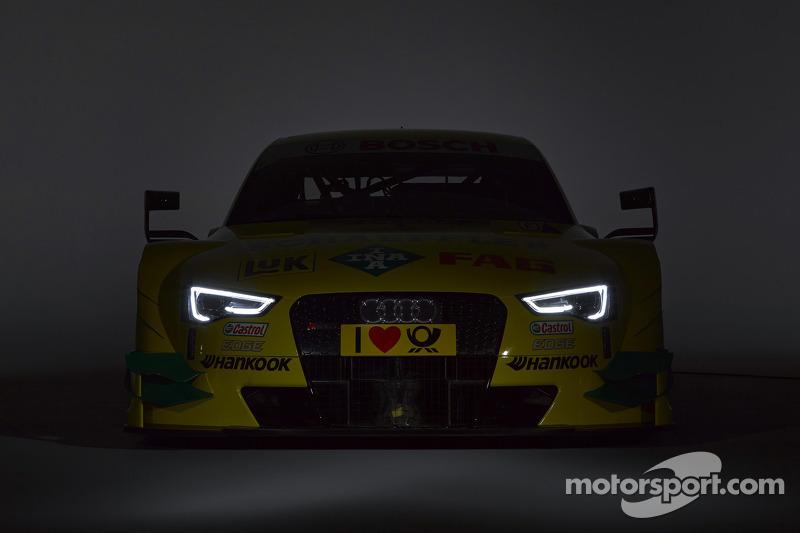 Audi reveals 2014 look for DTM champion Mike Rockenfeller