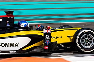FIA F2 Testing report Jolyon Palmer tops Day 1 at Yas Marina test
