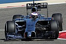 McLaren adds black to 2014 race livery
