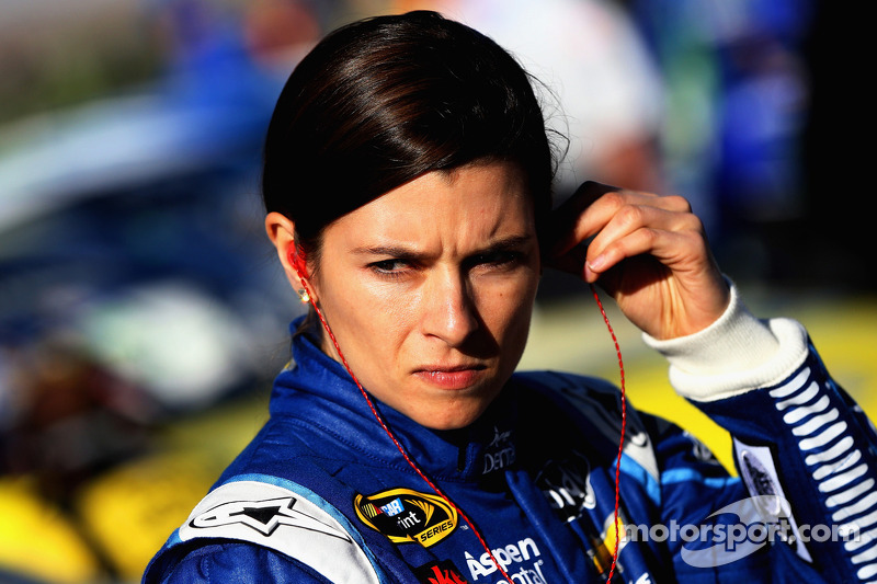 Danica Patrick at Bristol: Looking to get found