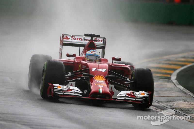 Ferrari on third and sixth rows at Australian GP