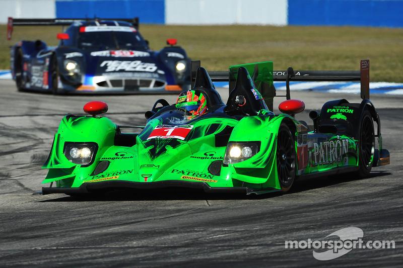 Top-10 qualifying effort for ESM Patrón at Sebring
