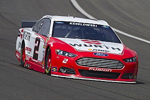 NASCAR Cup Race report Keselowski qualifies 2nd as four Fords land in Top-10 at California