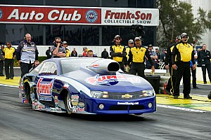 NHRA Preview Line looking for NHRA-style Las Vegas double for Team Summit