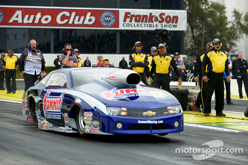Line looking for NHRA-style Las Vegas double for Team Summit