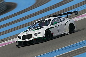 Blancpain Endurance Breaking news M-Sport Bentley announces star driver line-up for 2014